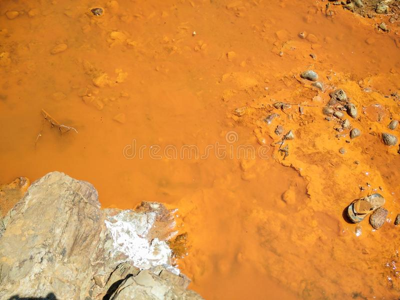 Environmental pollution. Water stock photos