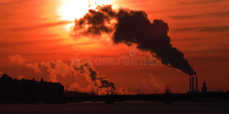 Download Environmental problems stock photo. Image of damage, emission - 13055798