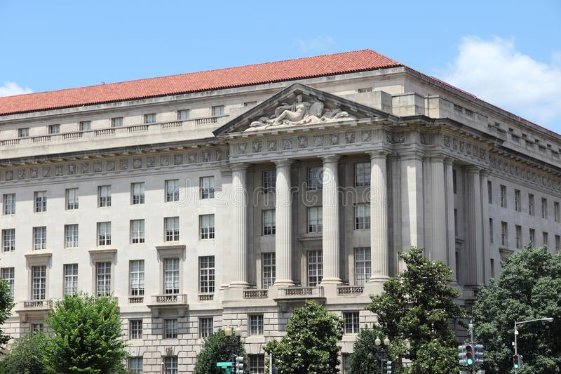 Environmental Protection Agency. (EPA) at Federal Triangle in Washington D.C stock image