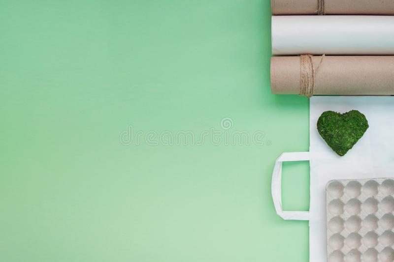 Environmental protection concept. Recycle and nature conservation stock photos
