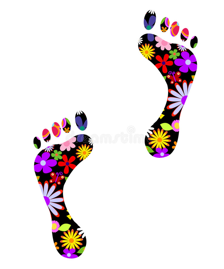 Download Environmentally Friendly Foots Stock Vector - Image: 4936891