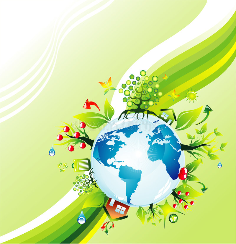 Environmetal concept Background royalty free stock images