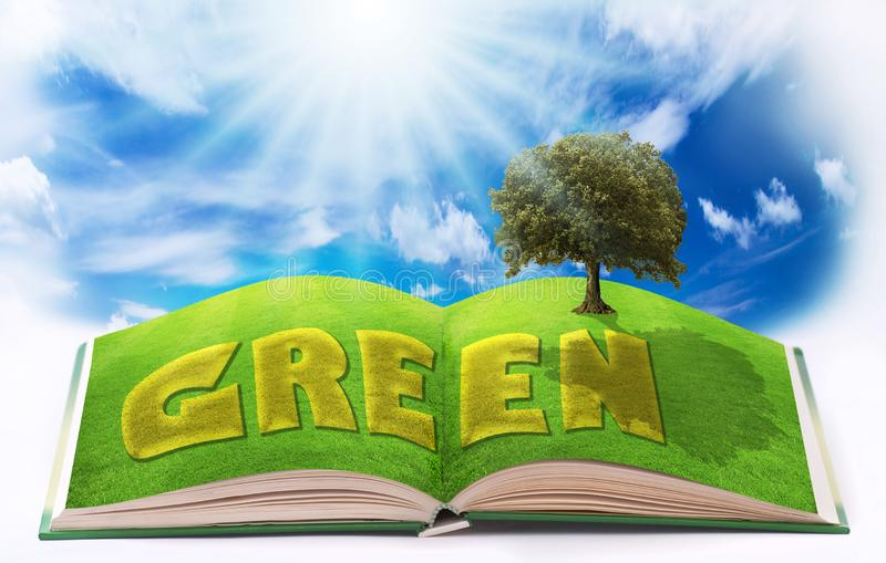 Environnement écologique et développement durable image libre de droits