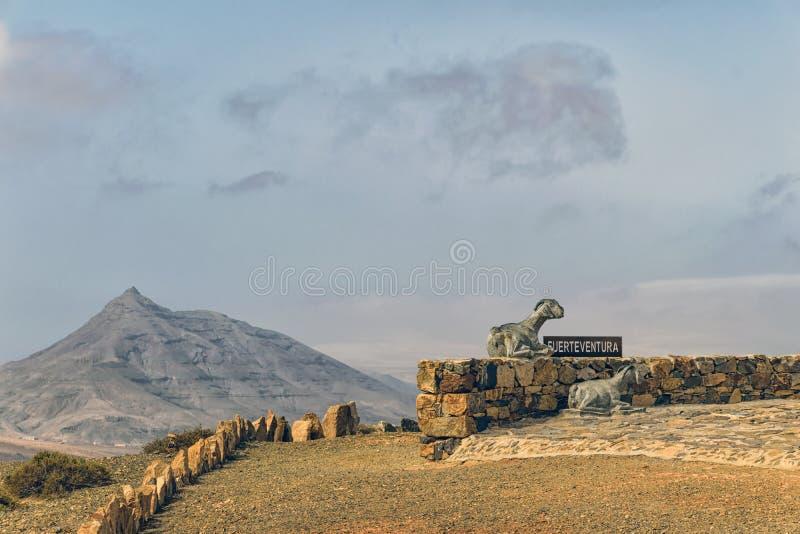 Environnement de Fuerteventura image stock