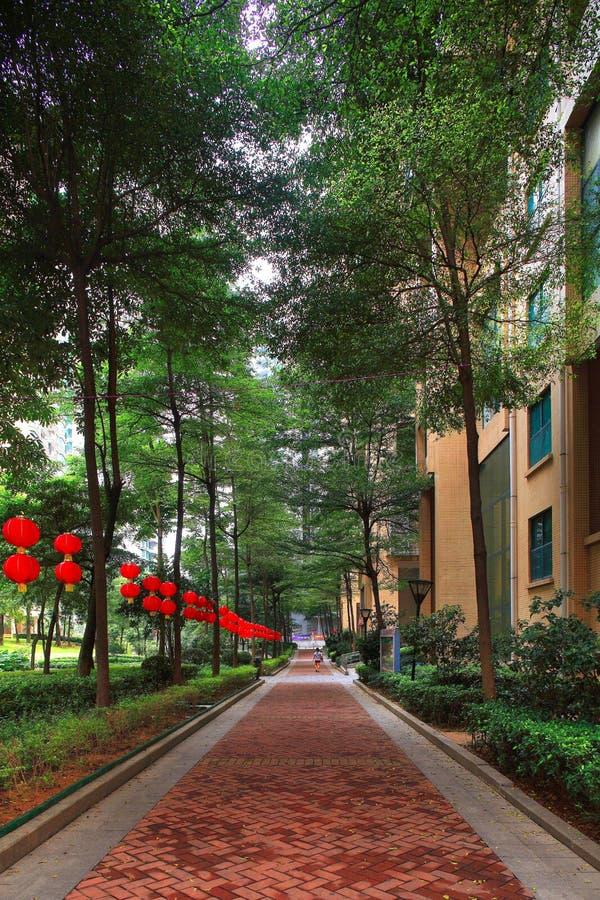 Environnement de la communauté des immobiliers de la Chine photos stock