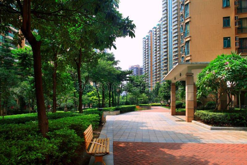 Environnement de la communauté des immobiliers de la Chine images stock