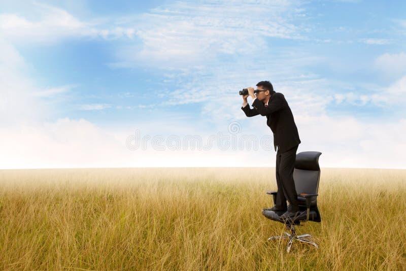 Envisager l'avenir 1 photographie stock libre de droits