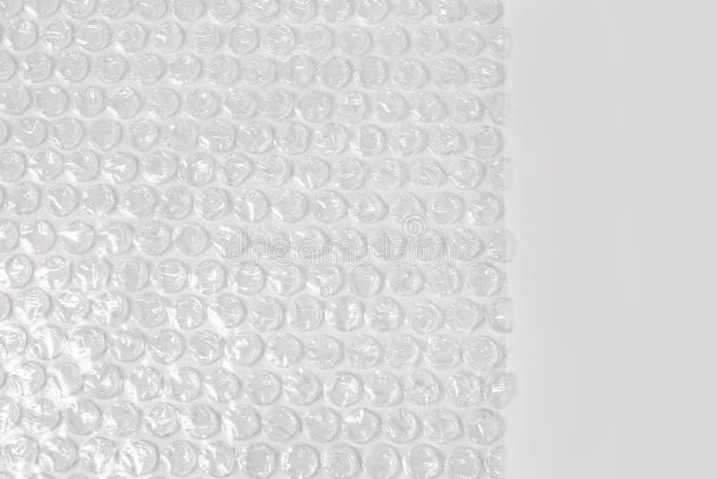 Envoltório de bolha plástico imagens de stock