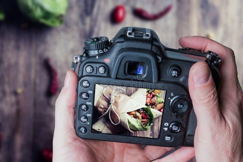 Envoltório mexicano do Tortilla fotos de stock royalty free