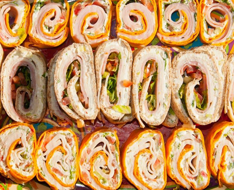 Envoltórios do Tortilla foto de stock royalty free