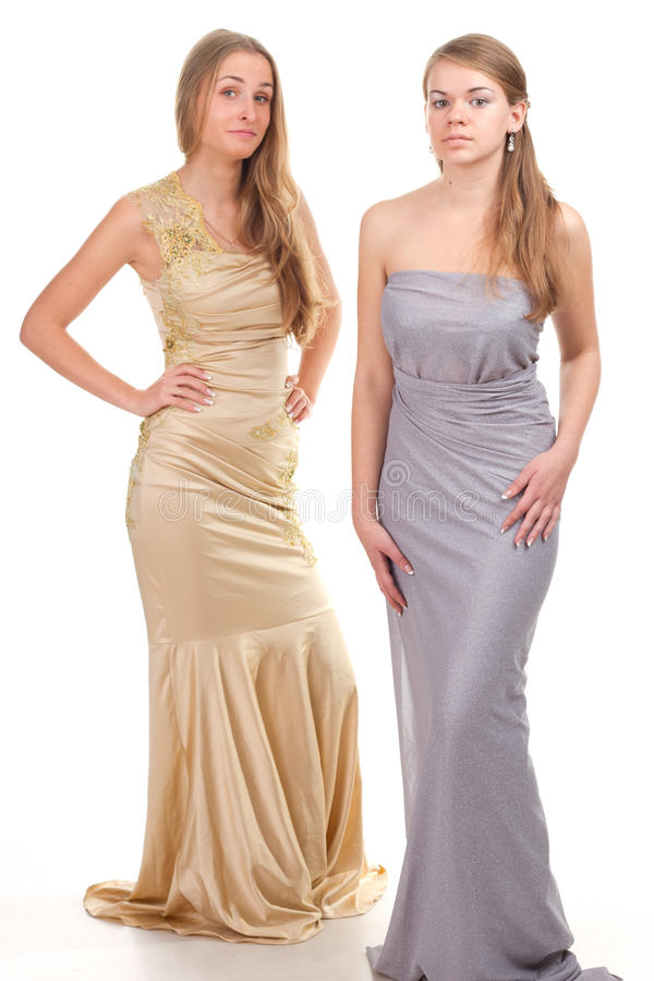 Free Envy Of Her Friends - Two Girls In Dress Stock Images - 24590914