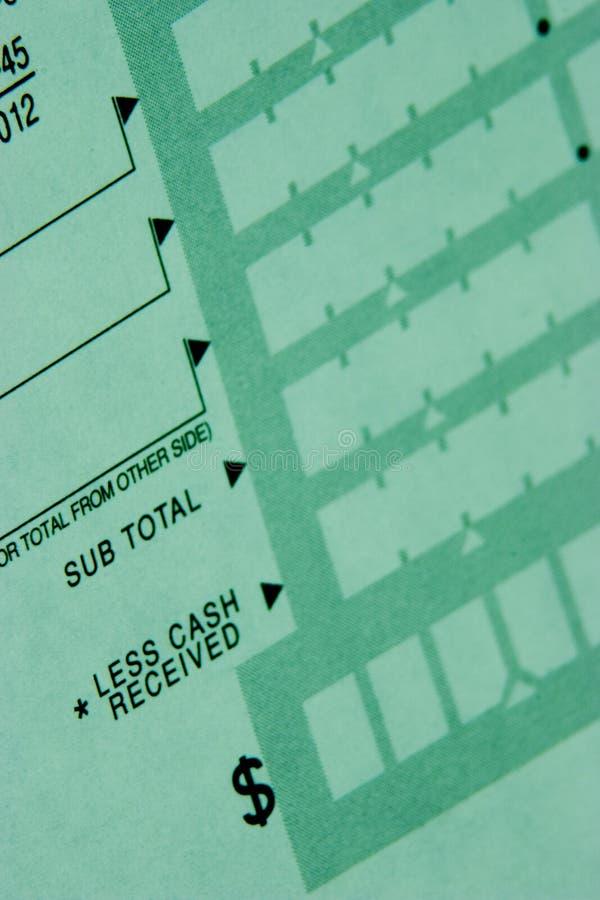 Enxerto de depósito imagem de stock royalty free