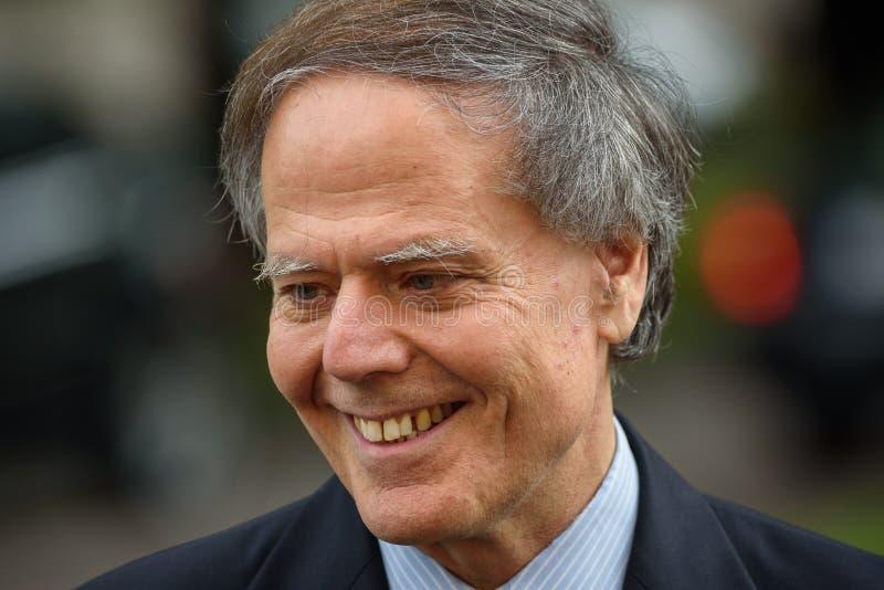 Enzo Moavero Milanesi Minister de asuntos exteriores de Italia imagenes de archivo