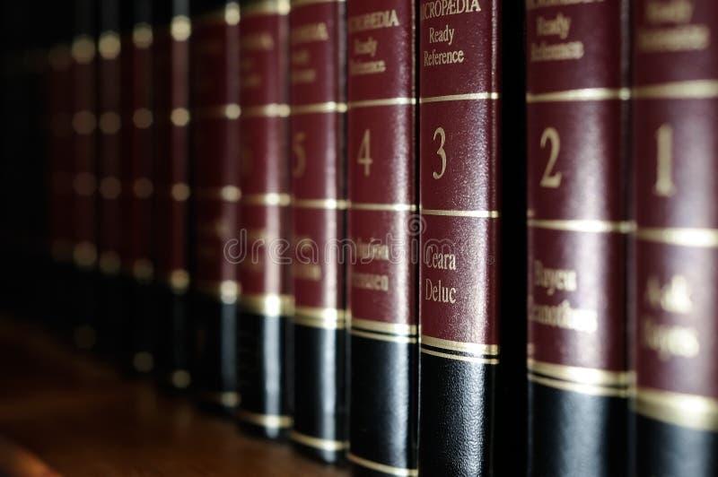 Enzyklopädien stockbilder