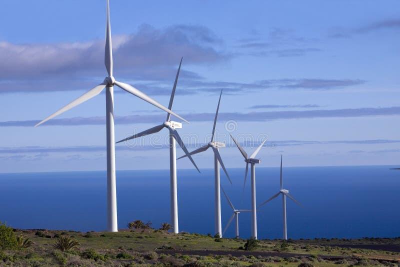 eolic генераторы стоковое фото
