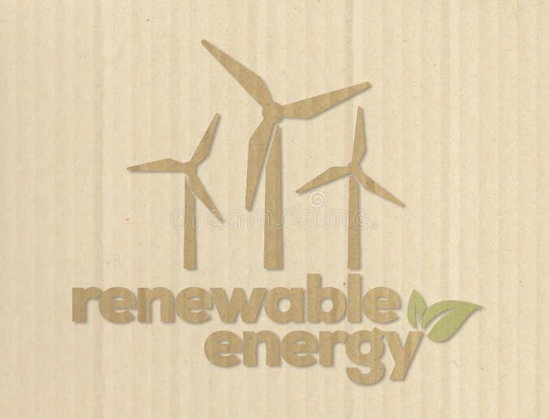 Eolic energy royalty free stock images