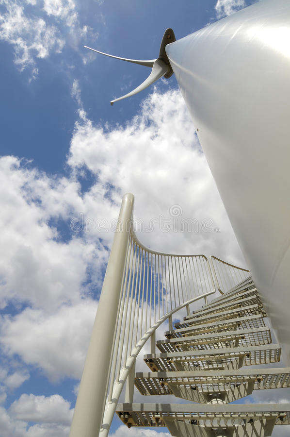 eolic turbinwind arkivfoto