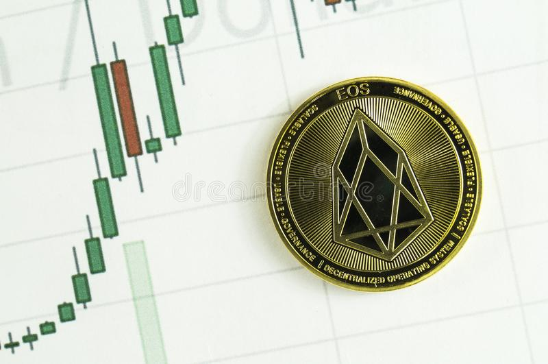 EOS is a modern way of exchange and this crypto currency is a convenient means of payment in the financial and web markets. EOS is a modern way of exchange and stock photos