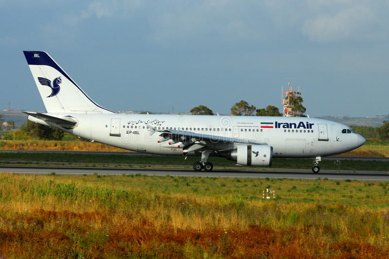 EP-IBL - Airbus A310-304 - IranAir imágenes de archivo libres de regalías