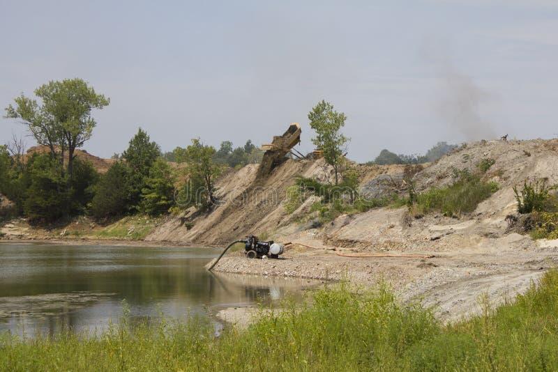 EPA-de Schoonmaakbeurtproject van het Mijnbouwland royalty-vrije stock afbeelding