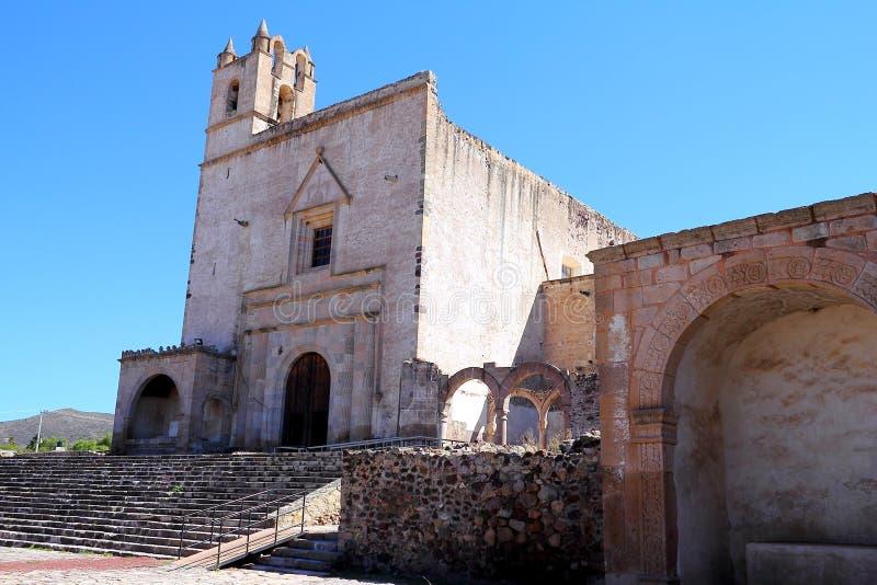 Epazoyucan女修道院我 免版税库存图片