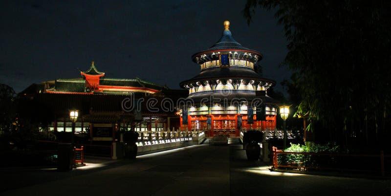 Epcot中国 免版税库存图片
