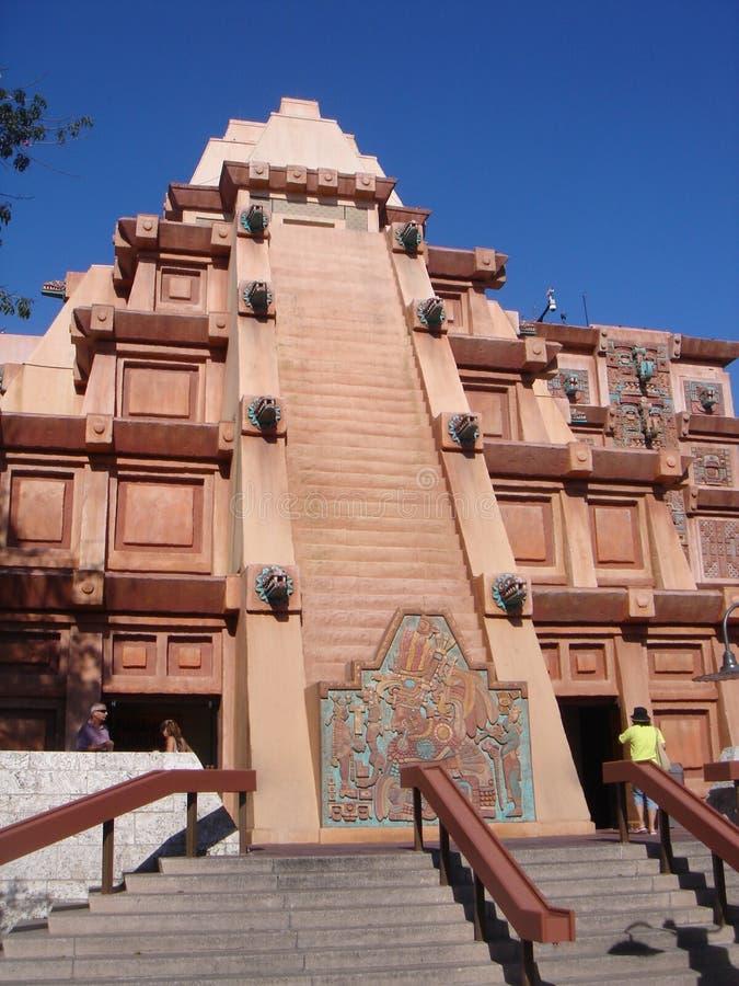 epcot Мексика стоковая фотография