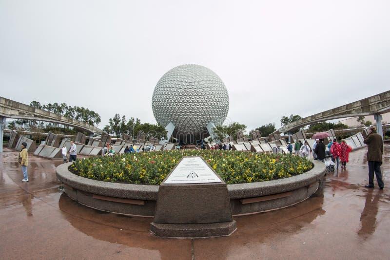 Epcot -华特・迪士尼世界- Orlando/FL 免版税库存照片
