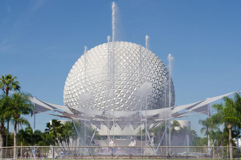 The Epcot Ball royalty free stock photo