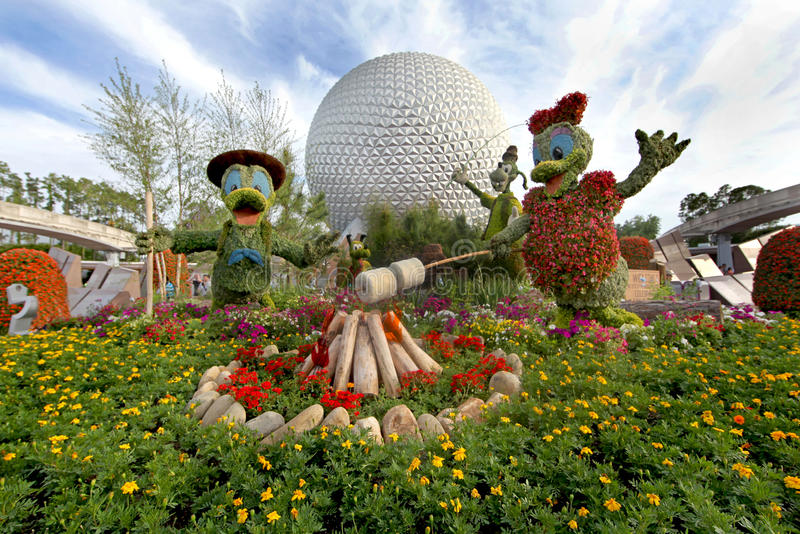 Epcot Flower and Garden Festival royalty free stock images