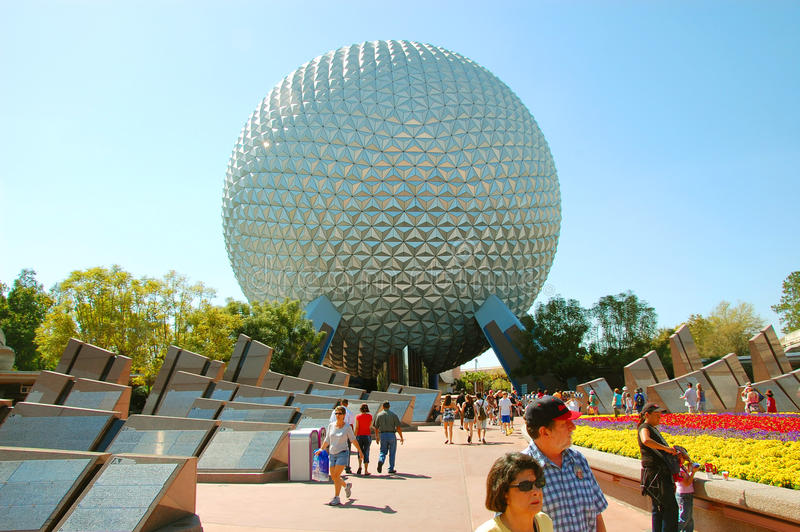 Epcot Golf Ball Editorial Stock Photo Image 31529668
