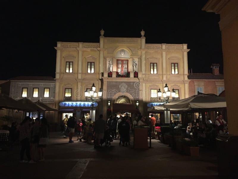 Epcot Itália fotografia de stock royalty free