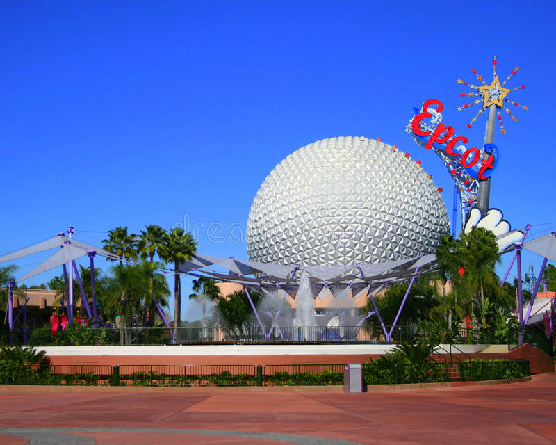 Epcot Spaceship Earth royalty free stock photo