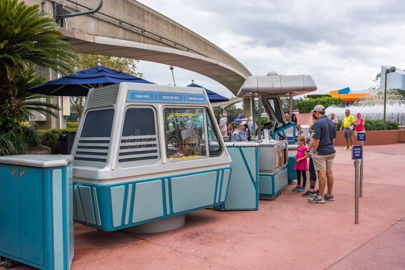 Epcot in Walt Disney World stock foto's