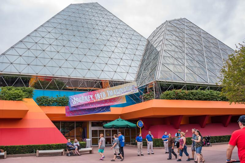 Epcot in Walt Disney World royalty-vrije stock foto