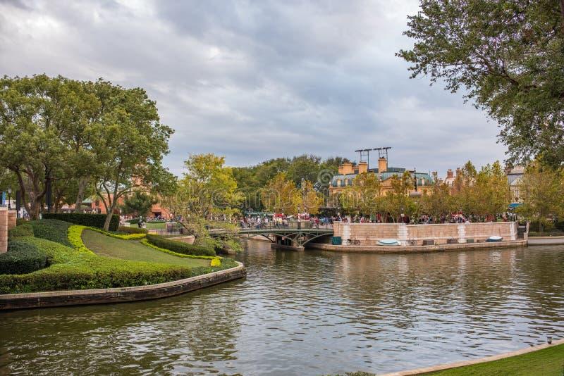 Epcot in Walt Disney World stock afbeelding