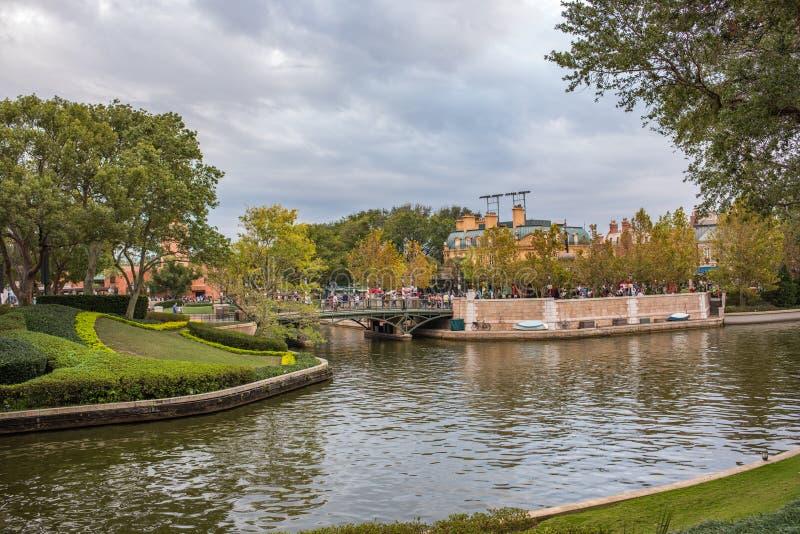 Epcot in Walt Disney World royalty-vrije stock fotografie