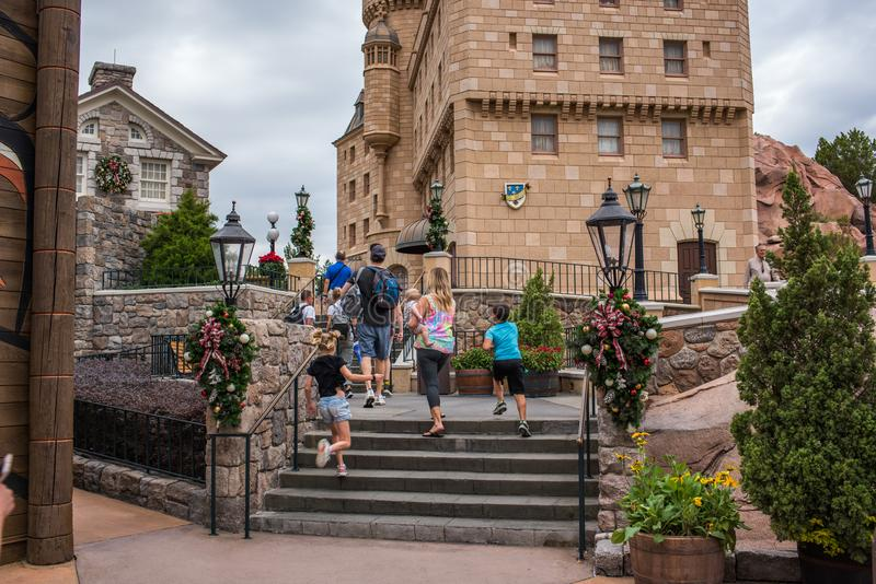 Epcot in Walt Disney World royalty-vrije stock foto's