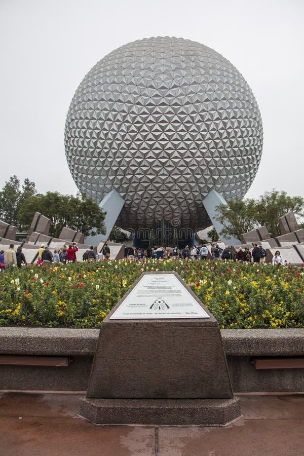 Epcot - Walt Disney World - Orlando/FL stock afbeeldingen