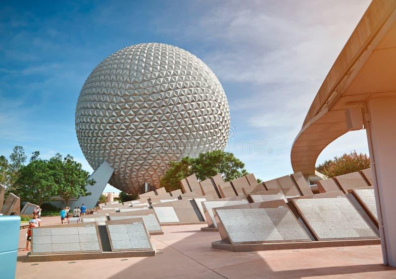 Epcotpark in Disney-wereld stock afbeelding