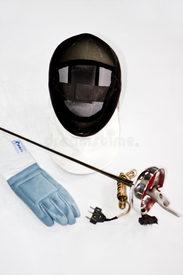 Free Epee Glove And Armor Stock Image - 14133541