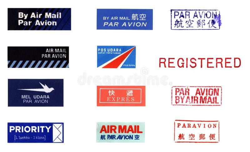 Ephemeras de envío II stock de ilustración