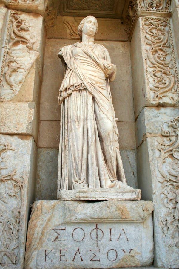 Ephesus伊兹密尔破坏火鸡 库存图片