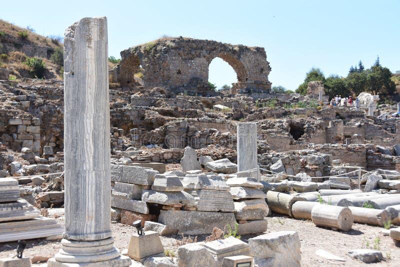 Ephesus, Турция стоковая фотография rf