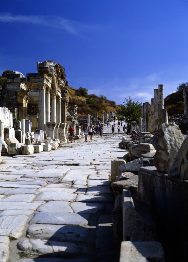 Ephesus, Турция стоковое изображение rf