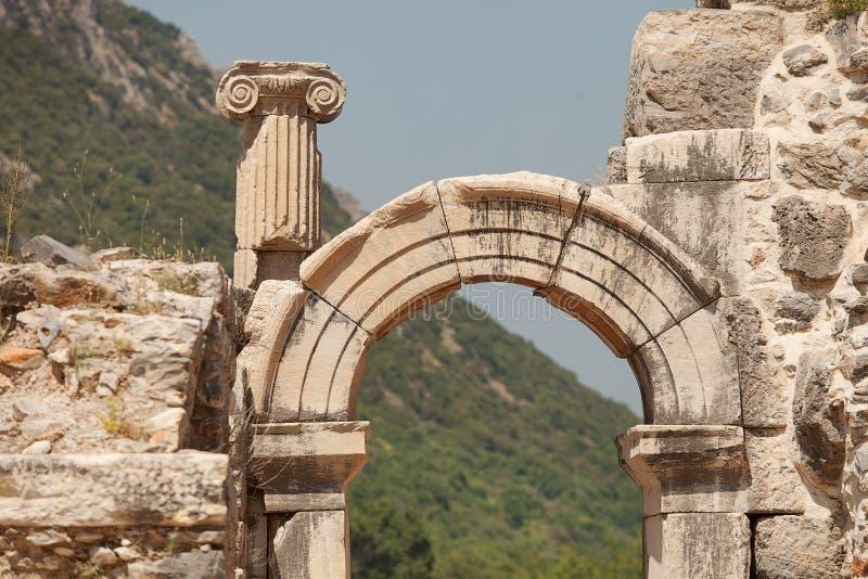 Ephesus Турция стоковая фотография