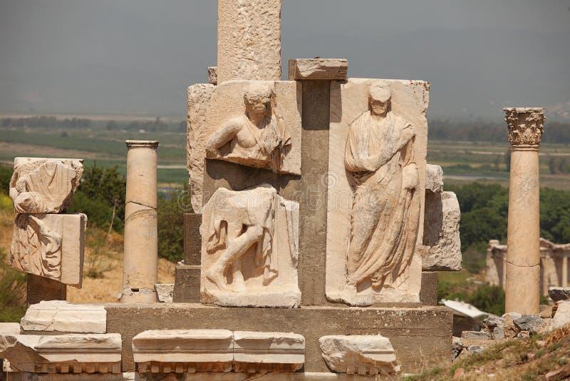Ephesus Турция стоковые фотографии rf
