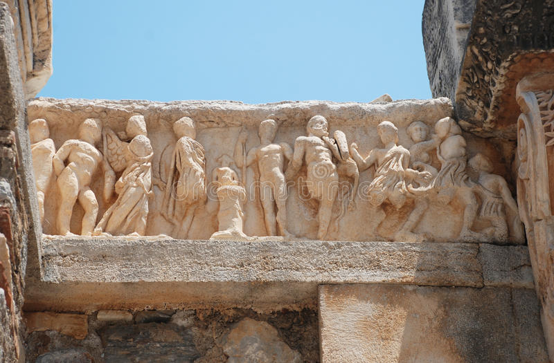 Download Ephesus stock image. Image of ionian, hadrian, destination - 19938351