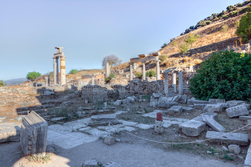Download Ephesus stock image. Image of famous, ruins, history - 22714001