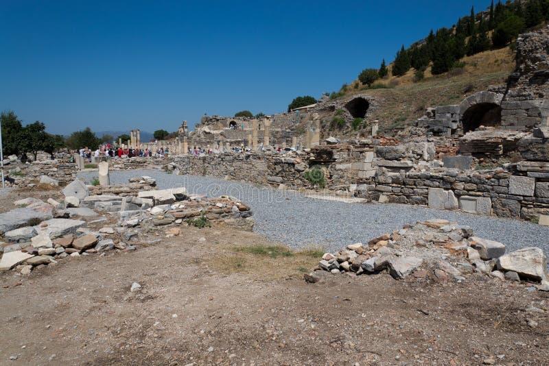 Download Ephesus stock photo. Image of ruins, excursions, celsius - 28355526